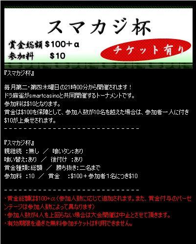 dora麻雀20131010-1スマカジ杯