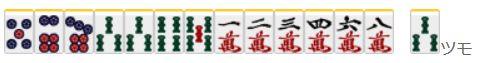 捨て牌読み3-7