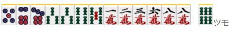 捨て牌読み3-4